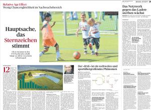 Ob es ein Junior in den FCB-Nachwuchs schafft, hängt vor allem von seinem Geburtstag ab.