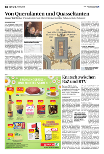 Mit über 17 Stunden Sprechzeit lähmt Polit-Querulant Eric Weber das Basler Parlament