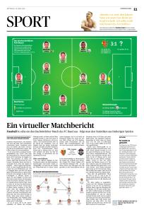 So sähe ein durchschnittlicher Match des FC Basel aus – folgt man den Statistiken aus bisherigen Spielen.