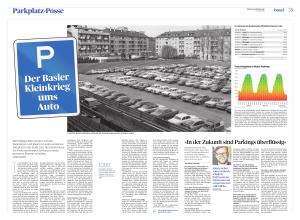 Mit heiligem Eifer streiten sich die Baslerinnen und Basler um jeden einzelnen Parkplatz in der Stadt. Zeit, die Entwicklung der Parkraumbewirtschaftung in einen grösseren Kontext zu stellen.