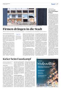 Jährlich wächst die Zahl der Unternehmen in Basel – trotz Abwanderung ins Baselbiet und nach Zürich.